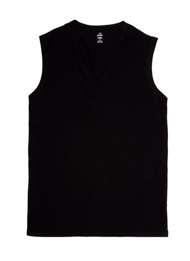 Eros 2'li T-Shirt Siyah